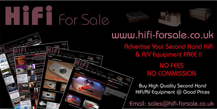 LaserVision - second hand hifi & home cinema equipment